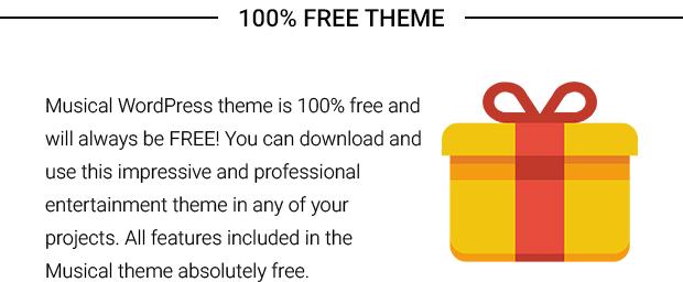 100 Percent Free Theme