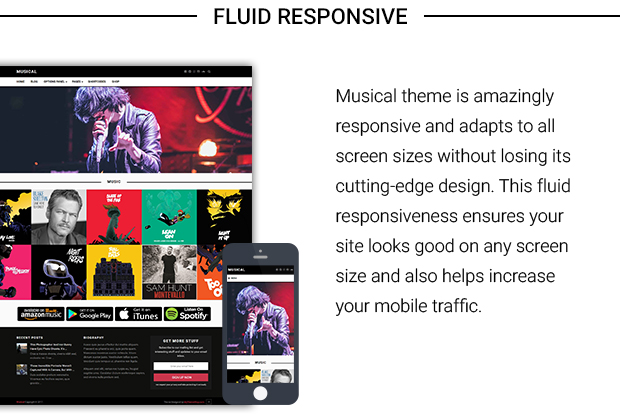 Musical – Free premium music WordPress Theme from Mythemeshop ...