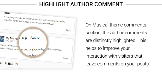 Highlight Author Comment