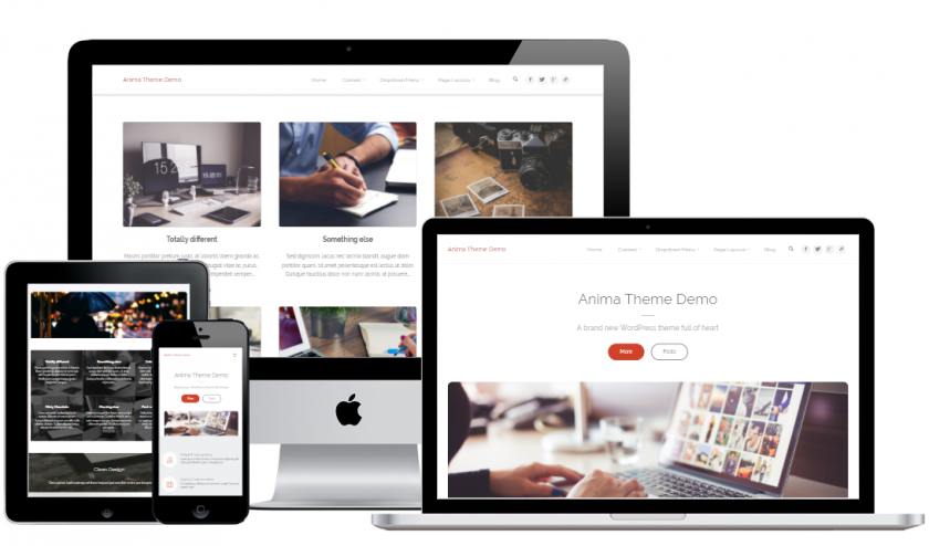 Free portfolio business wp theme