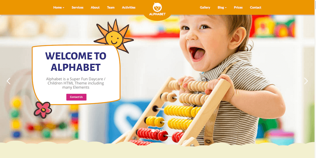Top 10 premium sweet and cute Wordpress themes for Kids - Geethemes