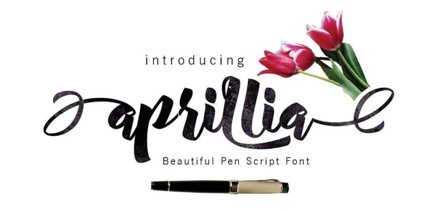 Aprillia Font