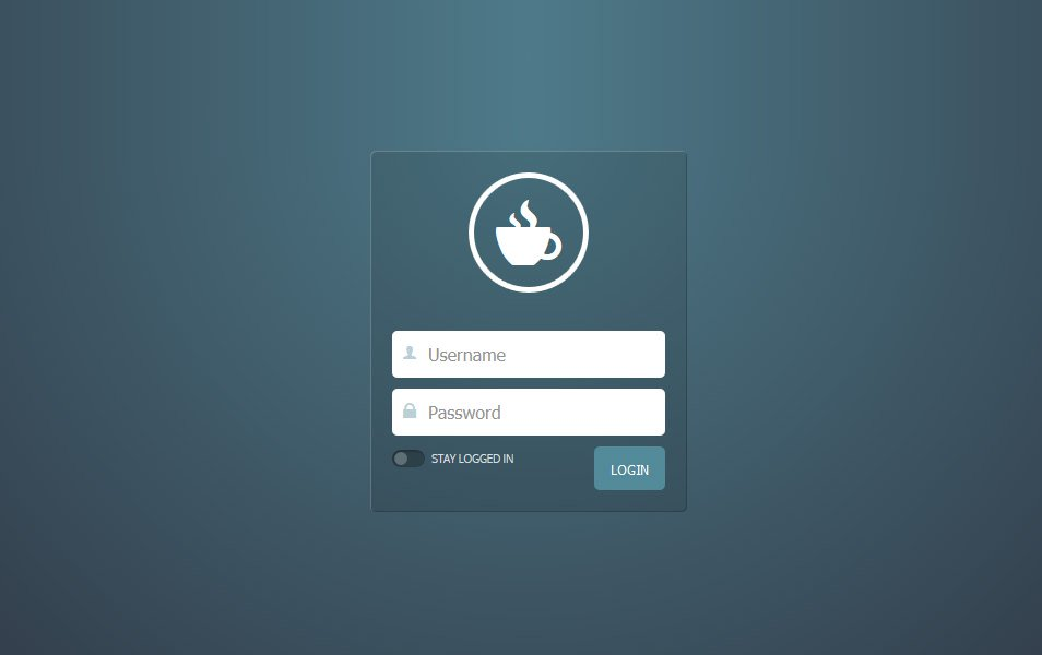 Basic Login Form