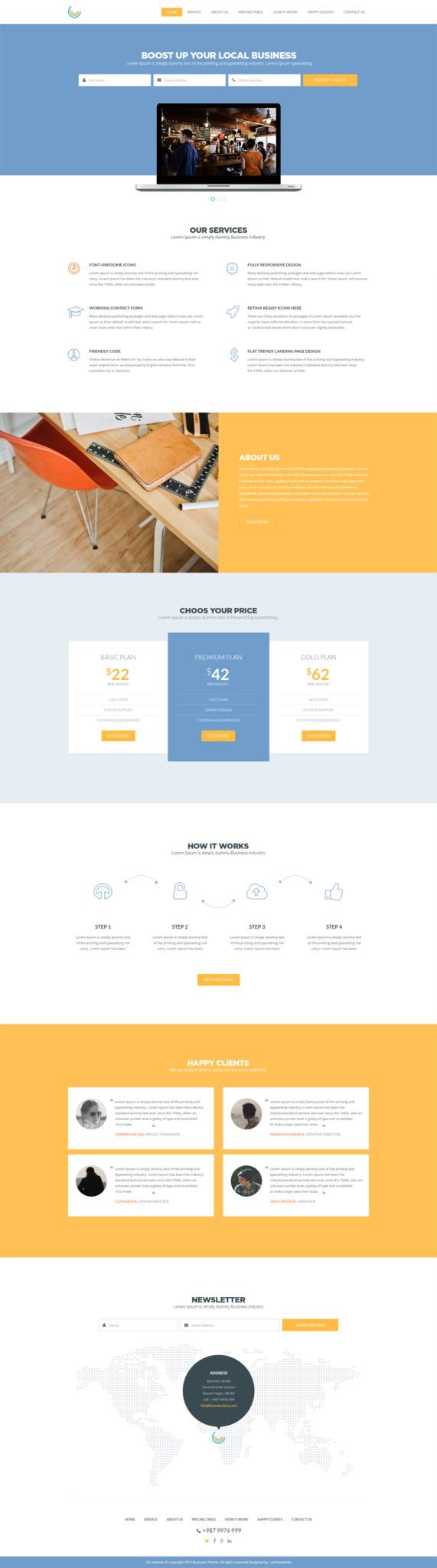 Business Templates - cssauthor.com