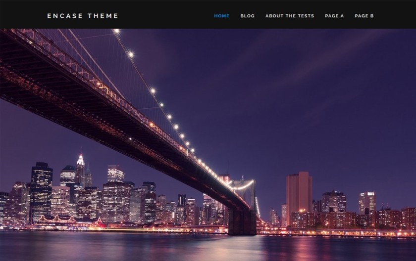 Encase Responsive WordPress Theme