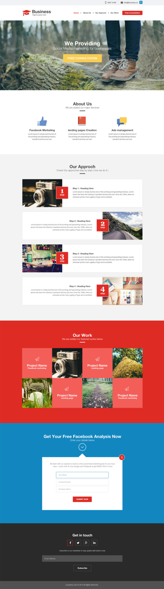 Writer PSD Themes