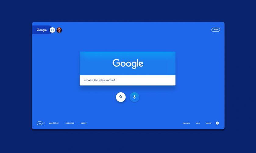 Google Redesign Concept