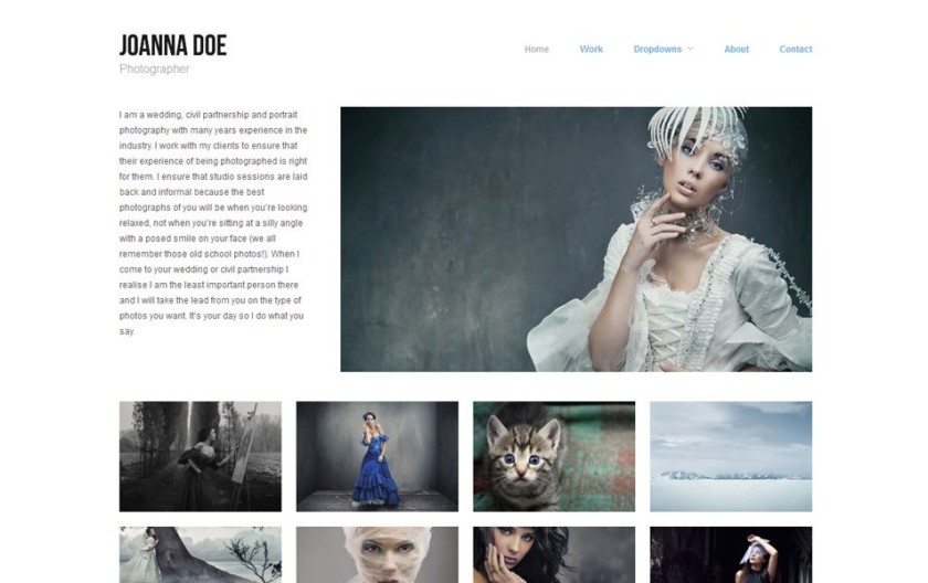 Hatch Free Portfolio WordPress Theme