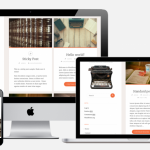 free WordPress theme for writers, authors and creators