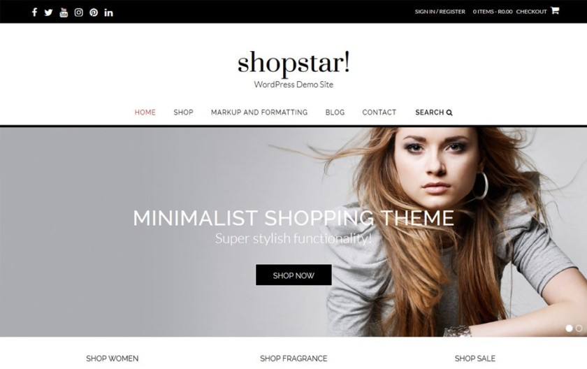 Shopstar Responsive WordPress Theme
