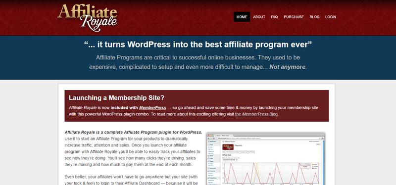 best affiliate wordpress plugins affiliate royale