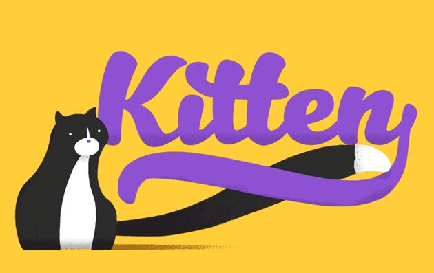 kitten_font