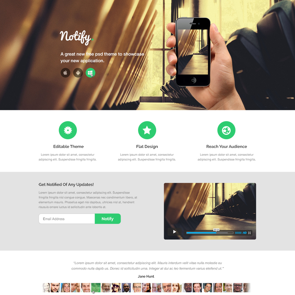 Psd Sites: Top 10 Free Corporate And Business Web Templates PSD