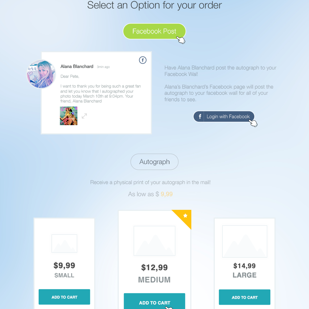 Social Links Free PSD Website Template