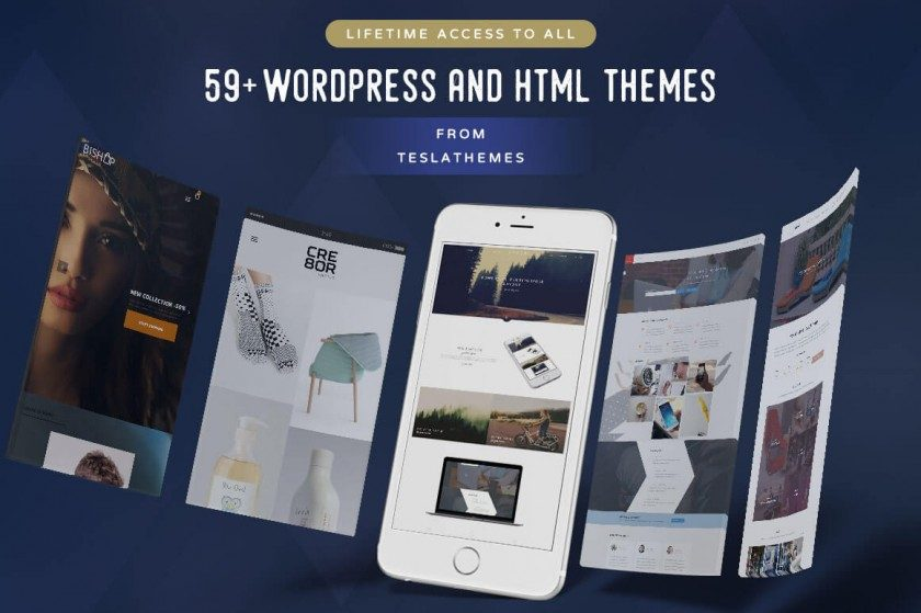 teslathemes wp themes package deal