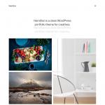 Hamilton - free big grids portfolio wp theme