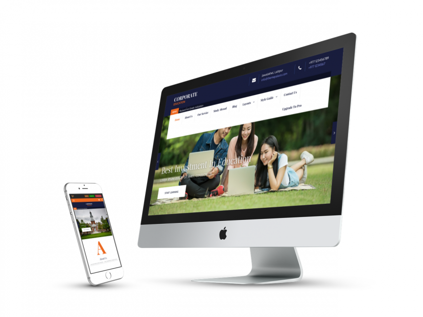 Corperate Education Responsive Theme