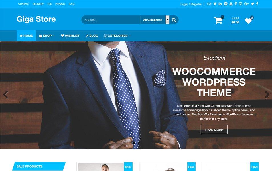 Top 98 free responsive Wordpress themes 2017 - Geethemes