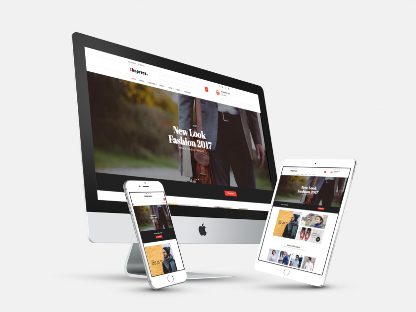 Shopress Free Woocommerce Wp Theme