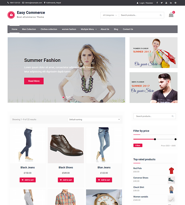easy-commerce-free-wp-theme