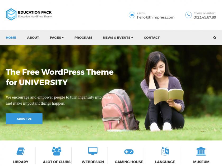 free-education-university-wp-theme