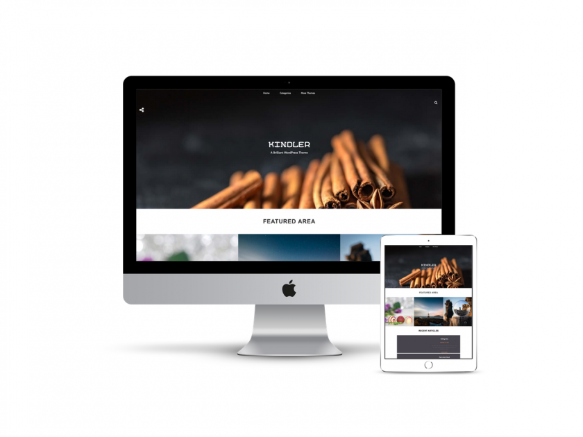 Kindler Free Personal Wp Theme