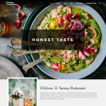 Yummy Restaurant Blog Wp Theme