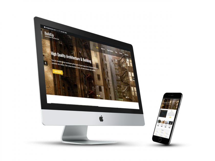 Buildup Responsive Wp Theme