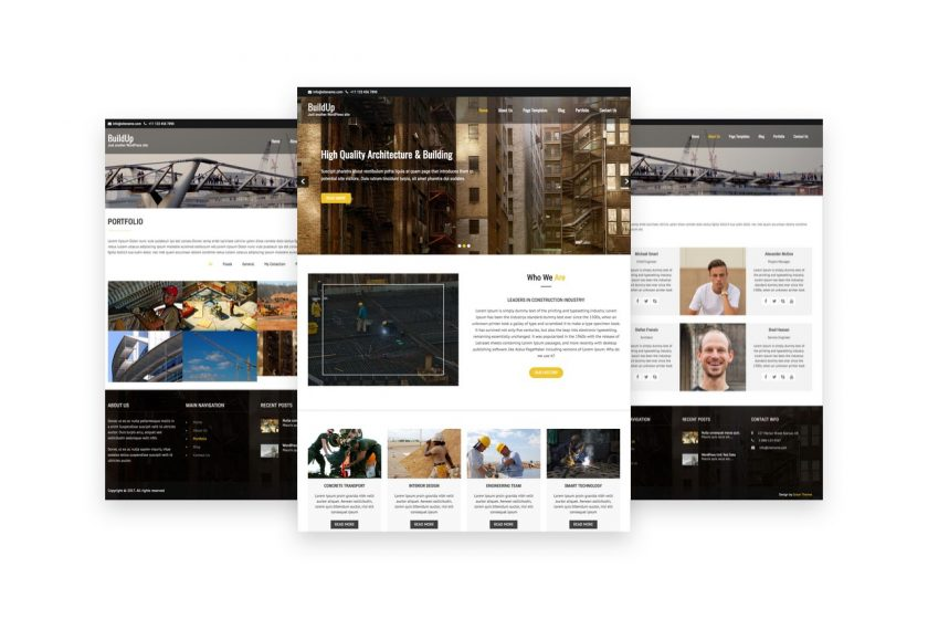 Buildup Free Business Wp Theme