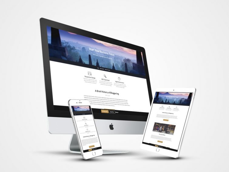 Businessbuilder Free Business Blog Wp Theme