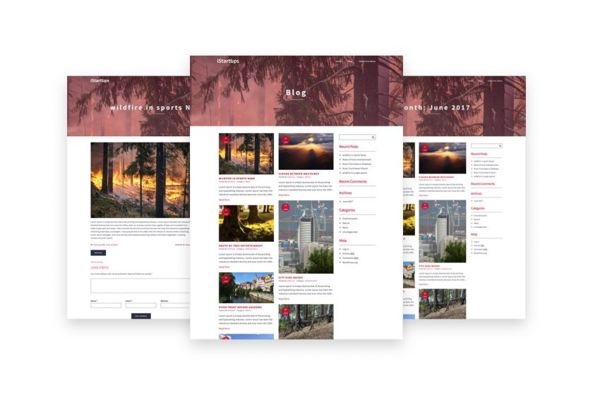 Istartups Free Wp Theme Startup Blogs