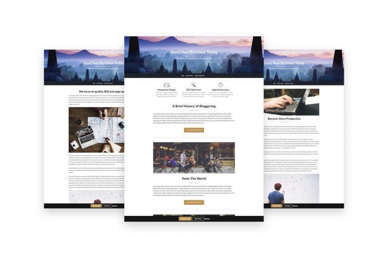 Businessbuilder Free Business Blog Wp Theme Screenshot