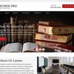Decree Free Lawyer Wp Theme