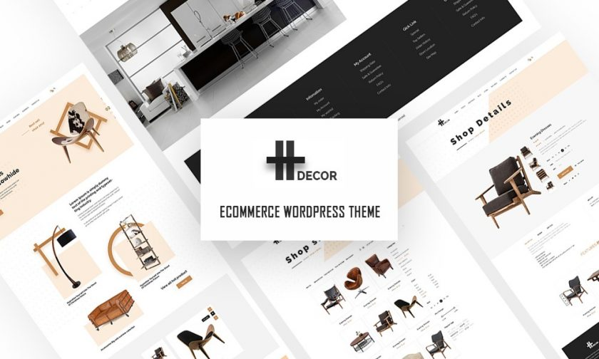 H Decor Creative Wp Theme For Furniture Business Online 58