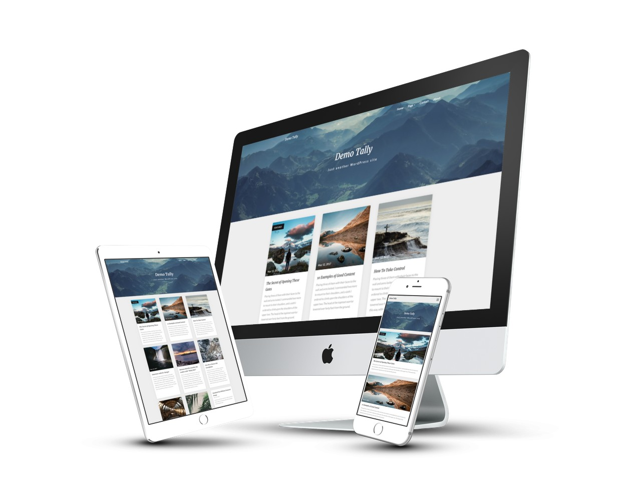 Noteblog Free Minimalist Clean White Seo Wp Theme