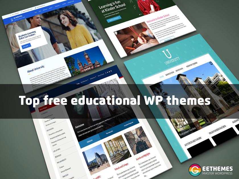 Top Free Education Wp Themes