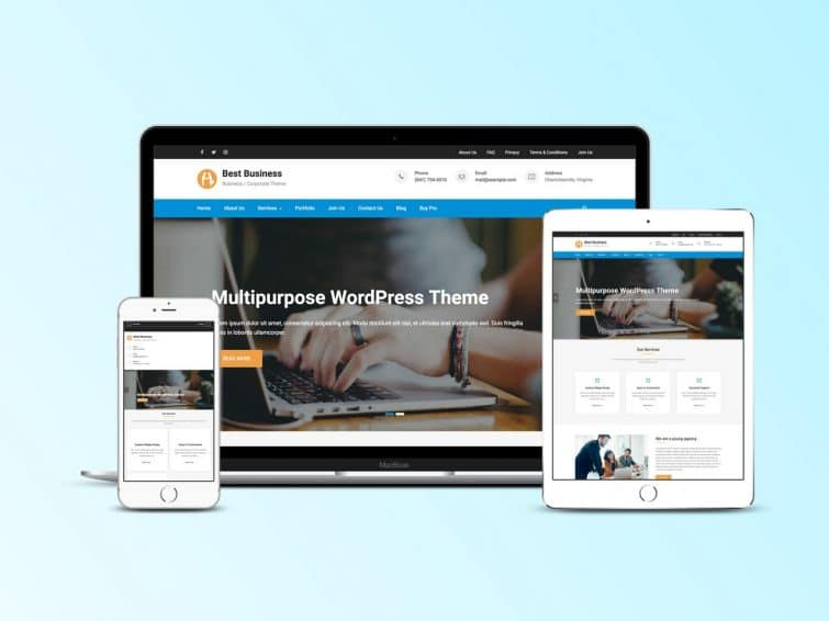 Best Business Responsive Business Wp Theme