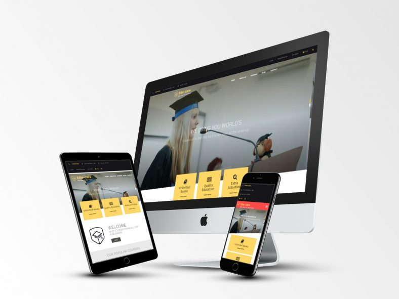 Edu Care Responsive Wp Theme