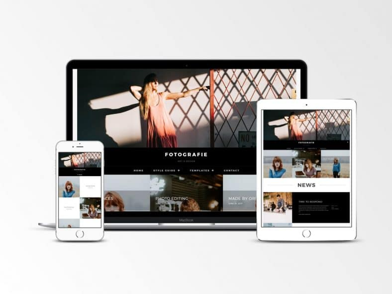 Fotografie Free Responsive Photography Wp Theme