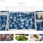 Kale - Free responsive wp food blogging theme