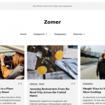 Zoomer Free Wp Blogging Theme