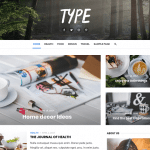 Type Wp Blogging Theme Free