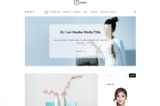 Cenote Free Wordpress Fashion Theme