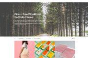 Pine Free Porfolio Wp Theme