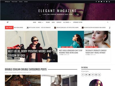 Elegant-Magazine Wordpress theme screenshot