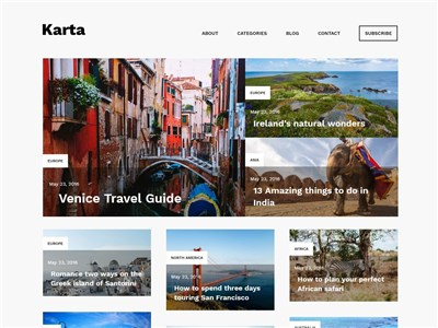 Karta Wordpress theme screenshot