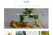 Lyrathemes Elara Food Blog Wp Theme