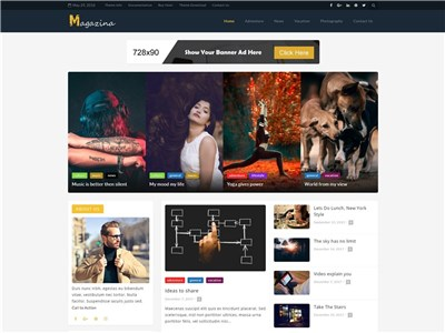 Magazina Wordpress theme screenshot