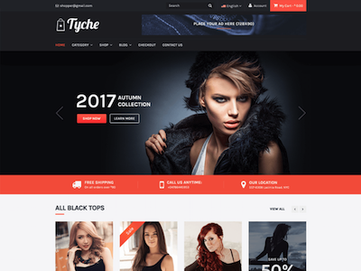 Tyche Wordpress theme screenshot