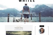 Writee Wp Blog Theme